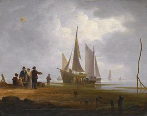Harbour Scene -