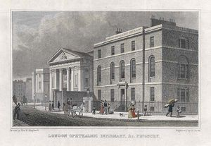 London Ophthalmic Infirmary, Finsbury -