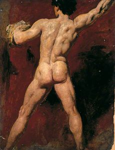 Back Of Male Nude