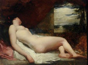 Reclining Nude -