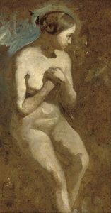 Seated Nude -