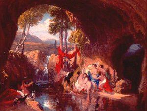 ダイアナとアクテオン(ダイアナの浴)