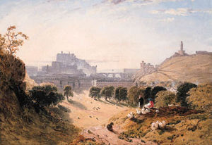 View Of Edinburgh; And View Of Stirling