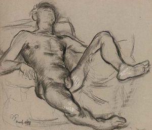 Reclining Nude -