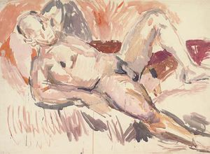Reclining Nude, Paul Roche