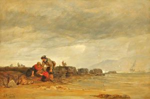 Shrimpers, South Coast Of Wales