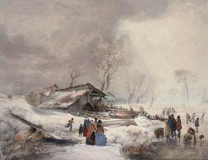 Winter On The Ice