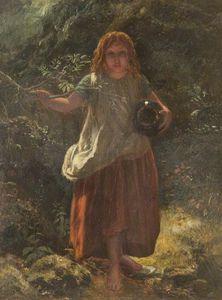 Girl In Wood