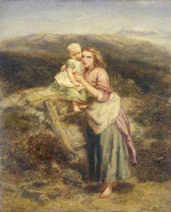 Peasants On A Moor