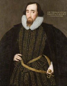Sir Thomas Lucas, Knight Of St John, Colchester