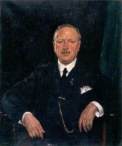 Sir Thomas Jaffrey, Bt, Lld, Chairman Of Aberdeen Art Gallery Committee -