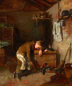 Sleeping Boots-boy