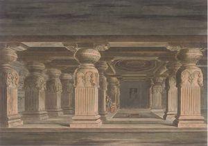 Hindoo Temples At Agouree