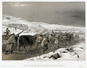 Crimean War - Huts And Warm Clothing For The Army