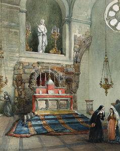 The Church Of Ecce Homo, Convent Of The Soeurs De Sion, Jerusalem