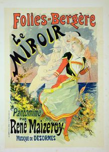 Reproduction Of A Poster Advertising 'the Mirror'