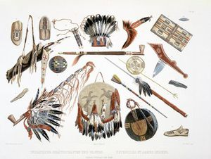 Indian Utensils And Arms -