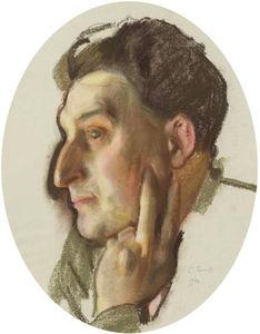 Portrait Of M.G. Lukianov In Profile