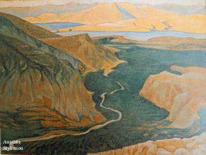Landscape Of Delphi, Plain Of Itea