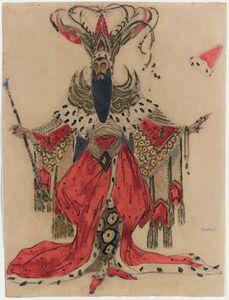 Costume For Alexis Boulgakov As Potiphar In The Legend Of Joseph