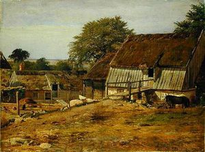 A Farmhouse In Sweden