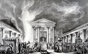 The Temple Of Isis, Pompeii, Illustration From Saint