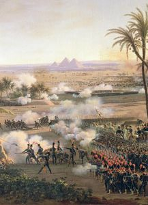 Battle Of The Pyramids, 21st July