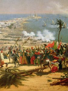 The Battle Of Aboukir, 25th July