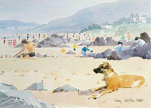 Dog On The Beach, Woolacombe