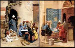 The Sahleb Vendor And The Chess Game