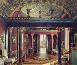 The Agate Room In The Catherine Palace At Tsarskoye