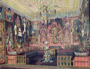 The Arabian Hall In The Catherine Palace
