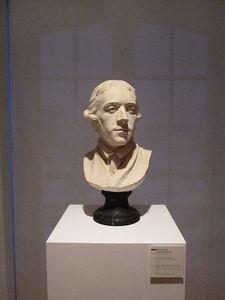 Buste Du Peintre Pierre-etienne Falconet Par Son Épouse Marie-anne Collot-falconet