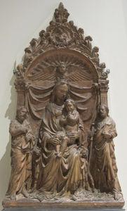 Pala D'altare Con La Madonna I Santi