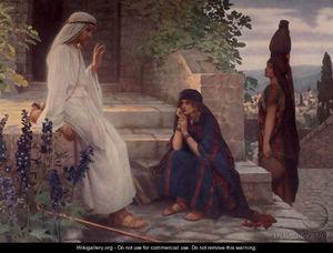 Christ At Bethany