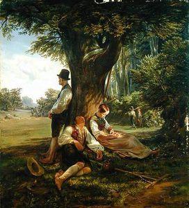 Peasants Having A Siesta