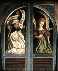 The Ghent Altarpiece, The Erythrean Sibyl And The Cumaean Sibyl