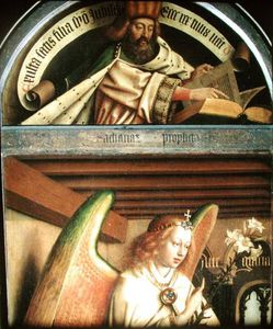 The Prophet Zacharias And The Angel Gabriel