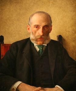 Portrait Of Isidor Gewitsch -