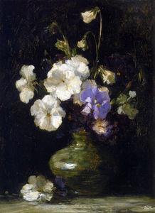 Pansies In A Vase Sun