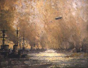 The German Fleet After Surrender,