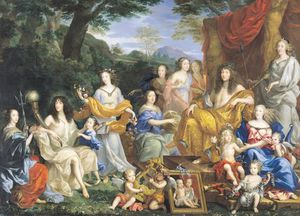 The Family Of Louis Xiv -