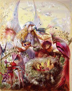 Fairies With Birds