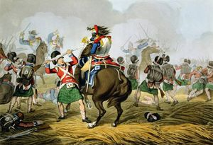 French Cuirassiers At The Battle Of Waterloo