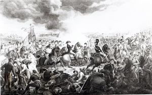 Wellington At The Battle Of Waterloo, 18th June