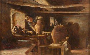Interior Of Ewenny Pottery