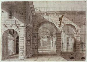 Newgate Prison Courtyard