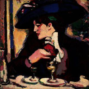 The Blue Hat, Closerie Des Lilas