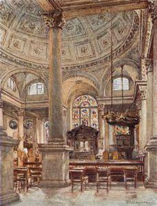 Interior Of St. Stephen's
