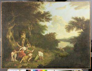 la morte di Orfeo , C . 1770